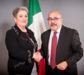 Carmen Ariza y Pietro Mariani