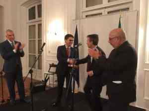 Premio Iberia Express Giulio Manunta
