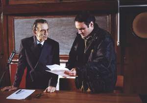 Sul set con Roberto Herlitzka