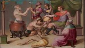Carlo Portelli, Martirio di San Giovanni Evangelista