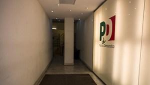 La sede del Pd per la riunione convocata da Matteo Renzi sull'agenda di governo, 27 febbraio 2015 a Roma. ANSA/ MASSIMO PERCOSSI