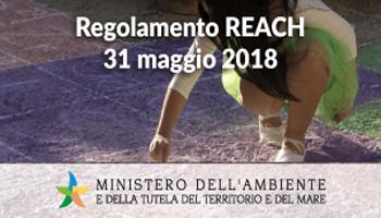 REACH: AL VIA LA CAMPAGNA DI SENSIBILIZZAZIONE PER REGISTRAZIONE SOSTANZE CHIMICHE
