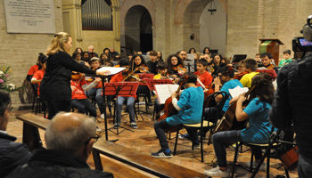 Musica e speranza all'Abbazia di Fiastra a un anno dal terremoto