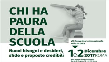 Roma, LUMSA: Convegno Internazionale sulla Scuola 1° Dicembre – Workshop sulle Migrazioni 2 Dicembre