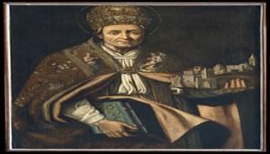 Goffredo Palmerini - Celestino V (tela di Giulio Cesare Bedeschini) - Goffredo Palmerini - 350X200