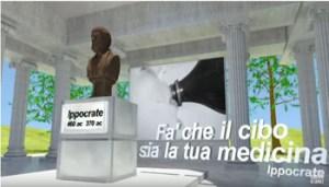 Ippocrate - Fà che il Cibo sia la tua medicina - www-youtbe-com - Il Cerca Salute - Panzironi - 350X200 - Cattura