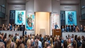 Sotheby's - Wanda Rotelli Tarpino - Basquiat Auction Shot - 350X200
