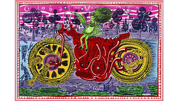 "Royal Academy Of Arts: Grayson Perry RA coordinates the biggest, brightest and most colourful Summer Exhibition yet, in our 250th annual celebration of ""art made now"""
