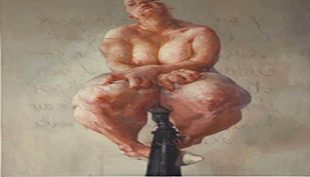 Sotheby's: L'opera che ha portato Jenny Saville alla fama internazionale – PROPPED, 1992