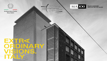 MAXXI Photo Exhibition – Extraordinary Visions. Italy – on 31st October 2018 -13th January 2019 at Italian Embassy Cultural Centre