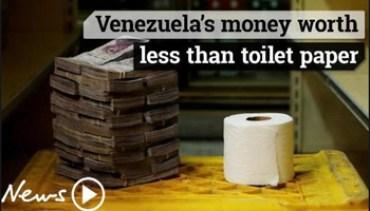 Venezuela - Il Denaro Vale Meno della Carta Igienica - www-news-au-com - 350X200 - Cattura