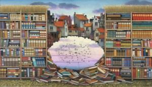Jacek Yerka, Biblioteca