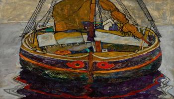 Sotheby's Londra Impressionist & Modern Art Evening Sale 26 Febbraio | UN PESCHERECCIO A TRIESTE NELLA VISIONE DI EGON SCHIELE