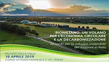 Confagricoltura: Firma dell'accordo per lo sviluppo del Biometano  nel settore dei trasporti in Italia