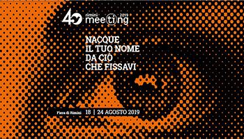 """Meeting Rimini: """"Nacque il tuo nome da ciò che fissavi"""""""