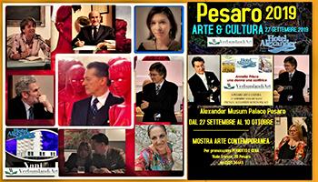 Fine Settembre Intenso per Goffredo Palmerini: A Pesaro Arte & Cultura E Al Premio Letterario Montefiore