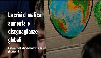 La crisi climatica aumenta le diseguaglianze globali