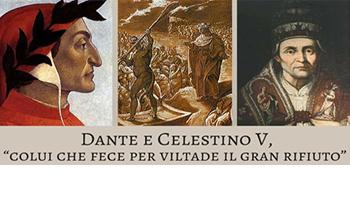"""<font color=""""#FF0000"""">LE DIMISSIONI DA PONTEFICE: CELESTINO V E BENEDETTO XVI <BR> <em/>La rinuncia al potere: una festa mai celebrata </em>  </font>"""