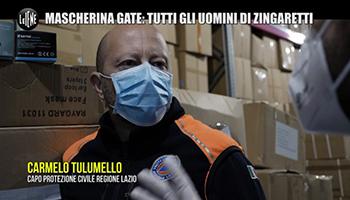"""""""Mascherina gate"""": il candidato di Zingaretti e i preventivi ignorati"""