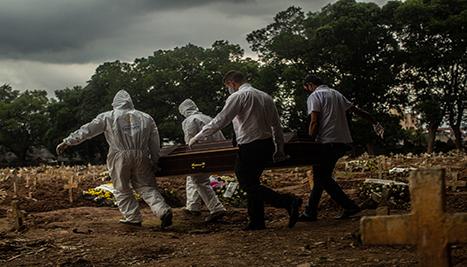 Le morti per coronavirus superano un milione in tutto il mondo