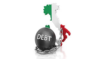 IL DEBITO PUBBLICO ITALIANO AL 15 GENNAIO 2021 È DI 2.586,5 MILIARDI DI EURO SECONDO QUANTO COMUNICATO DALLA BANCA D'ITALIA