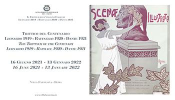 Il Trittico del Centenario Leonardo 1919 Raffaello 1920 Dante 1921
