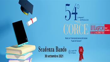 Master per l'internazionalizzazione delle imprese 54° CORCE Fausto De Franceschi