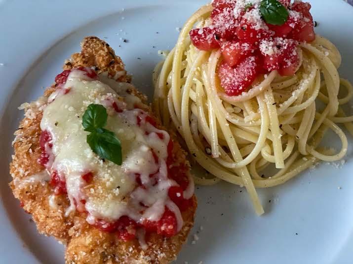 Crispy Chicken Parmesan Chicken Parmigiana