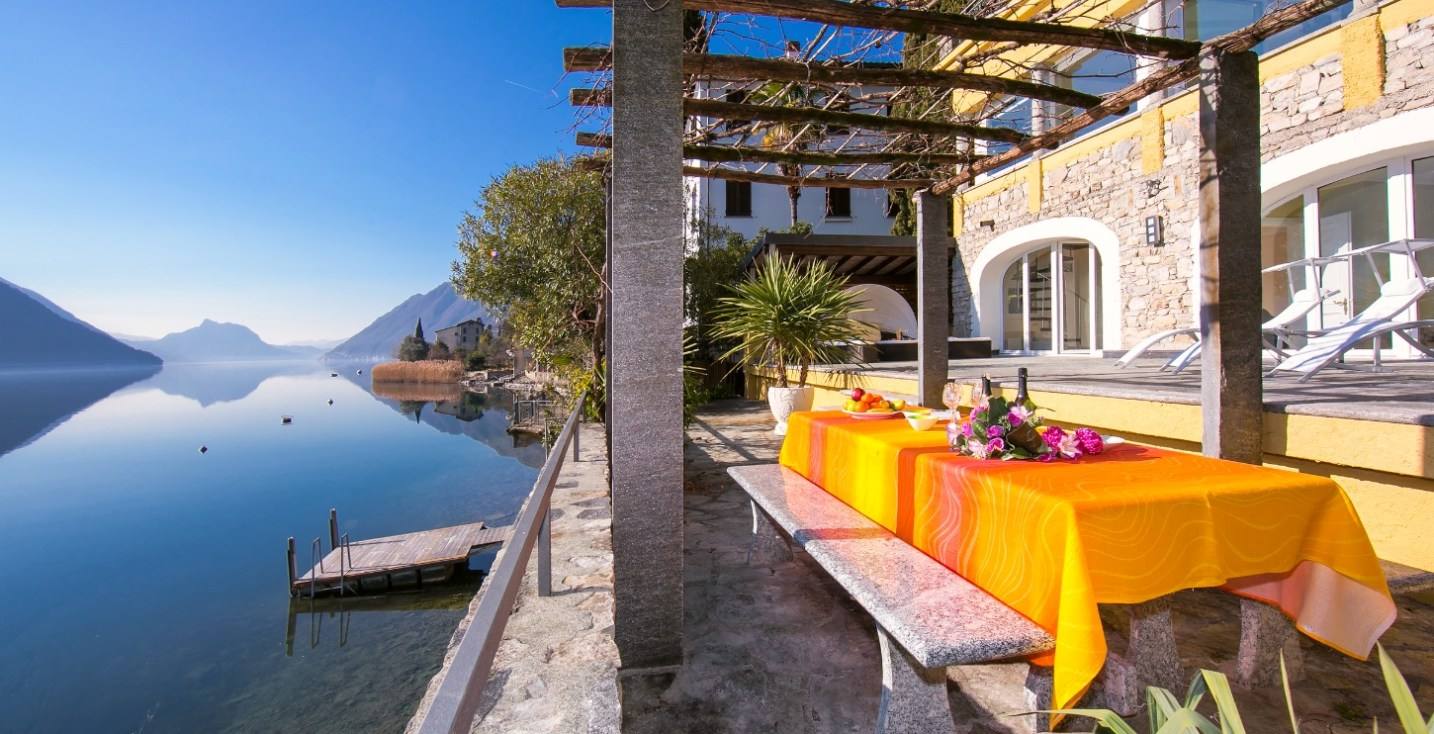 villa lake lugano