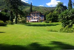 The 5* Villa seen from the garden