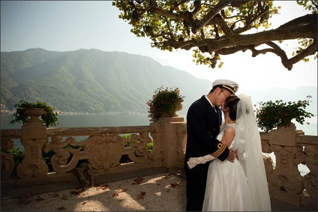 Star wars theme wedding on lake Como