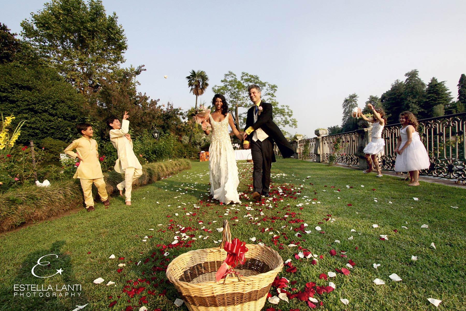 Indian Hindu wedding in Italy