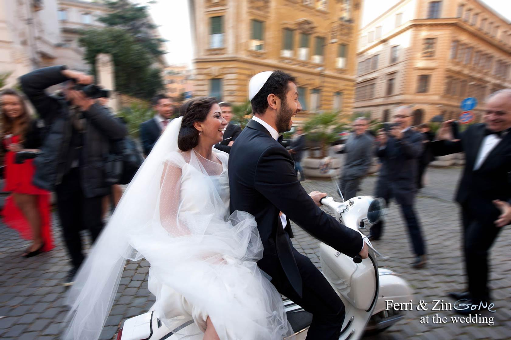 Jewish wedding in Italy