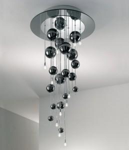Realizzata in alluminio lucidato, vanta un piccolo. Scopri I Lampadari Moderni Dal Design Raffinato