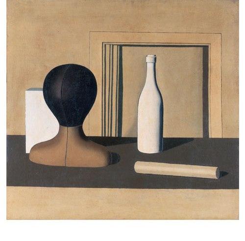 "Giorgio Morandi, ""Natura morta (Still Life),"" 1918. Oil on canvas, 68.5 x 72 cm. Pinacoteca di Brera, Milan, Courtesy of MiBAC. (c) 2018 Artists Rights Society (ARS), New York / SIAE, Rome."