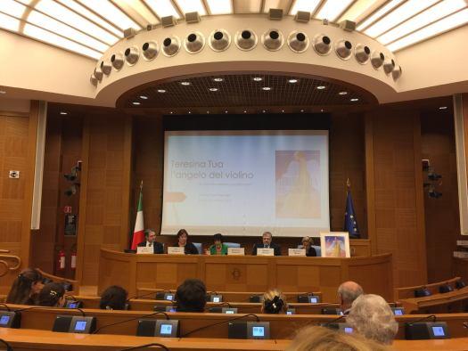 Conferenza di Luca Bianchini alla Camera dei Deputati di Roma