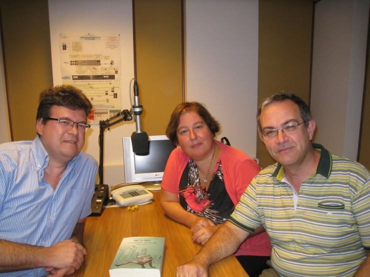 Luca Bianchini, Anna Trombetta a Radio Vaticana