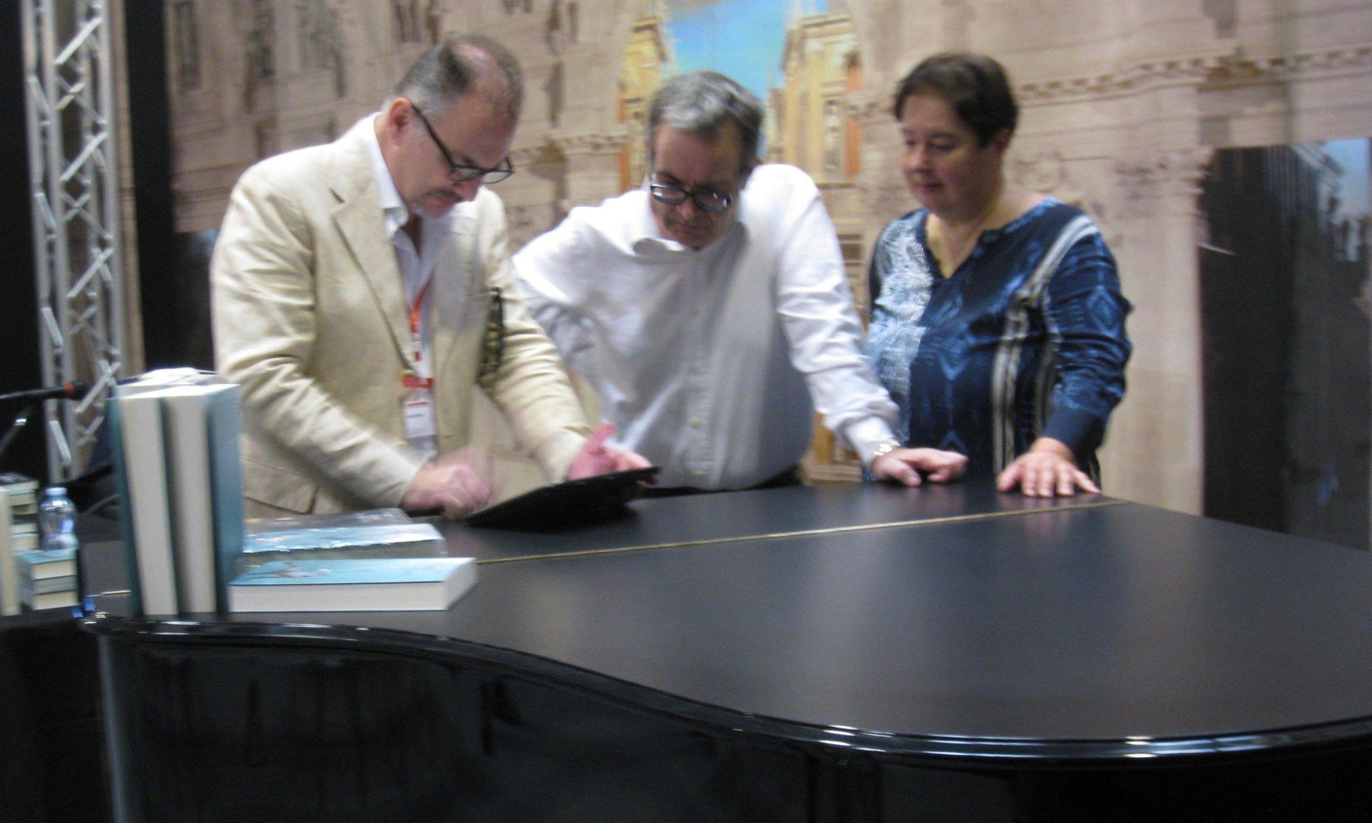 Edoardo Catemario, Anna Trombetta e Luca Bianchini a Cremona Musica, Fiera musicale numero 1 al mondo