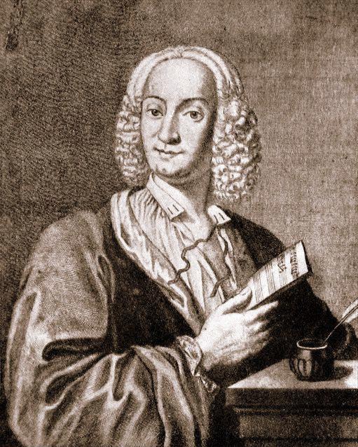 Antonio Vivaldi (ritratto di François Morellon de la Cave Effigies Antonii Vivaldi, per l'edizione Le Cène dell'op. 8 del 1725)