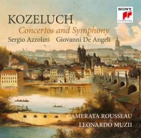 Kozeluch, CD di musica inedita, Concerti e Sinfonie