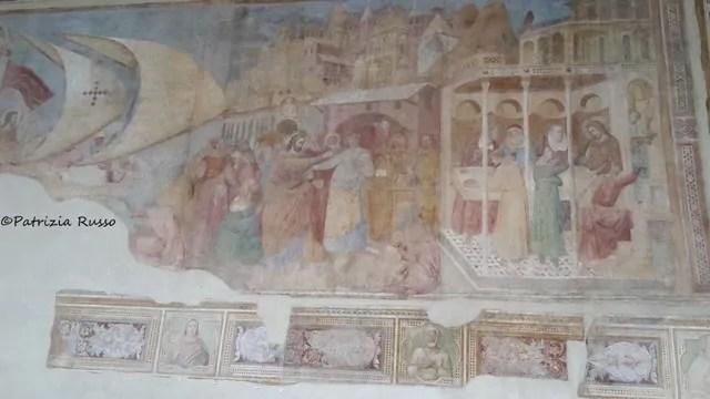 Pisa, particolare dell'affresco con il miracolo di San Ranieri (ph. In24/P. Russo)
