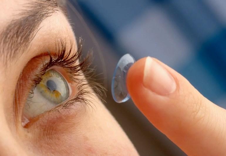 glaucoma_lenti a contatto (ph. Collins Optometrists)