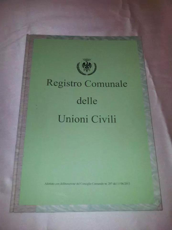 unioni civili registro
