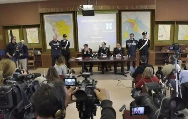 infermiera arrestata piombino conferenza carabinieri pisa