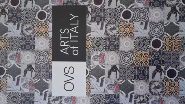 Arts of Italy, la campagna di Ovs per l'arte italiana