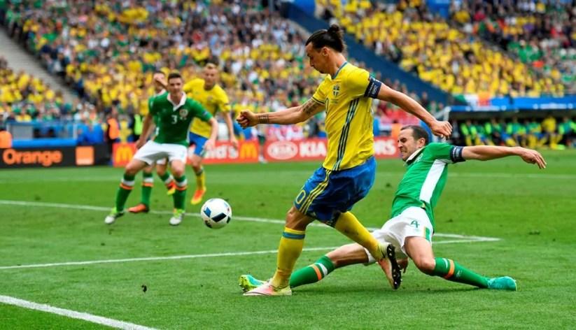 Euro2016, Irlanda Svezia Ibrahimovic