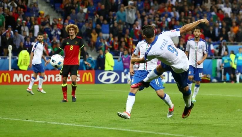 Euro2016 Graziano Pellè Italia Belgio (ph. Fifa).