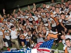 I Rhinos Milano campioni d'Italia 2016 di football (ph. G. Busi)