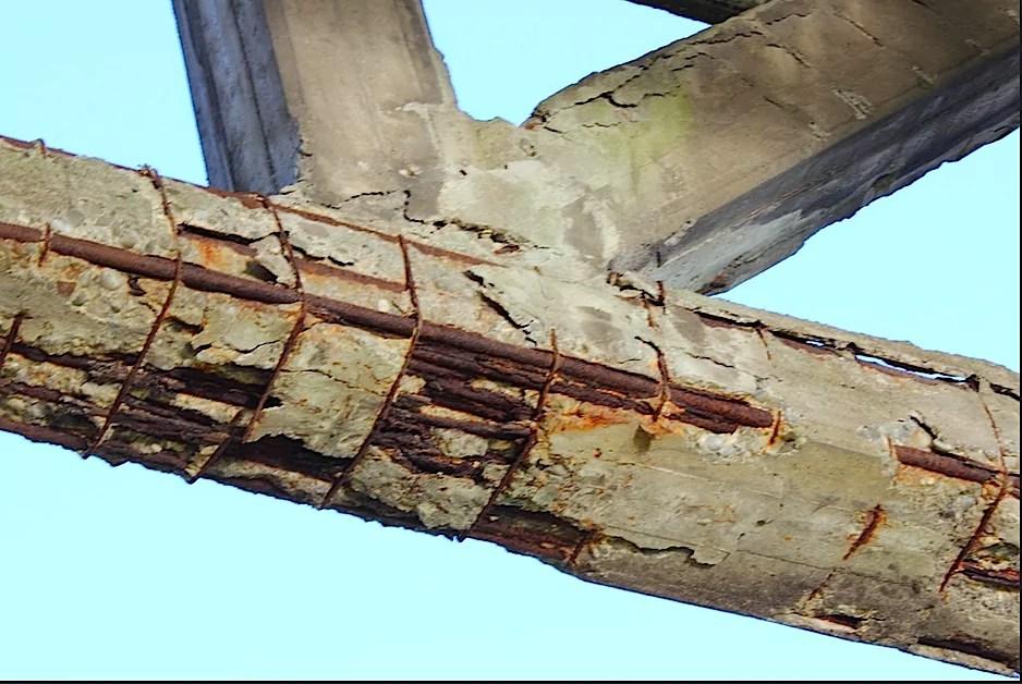 Trave in cemento armato, sicurezza edifici, ingegneri napoli