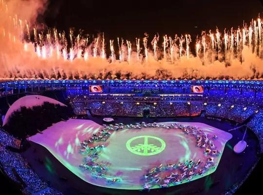 olimpiadi 2016_simbolo pace verde